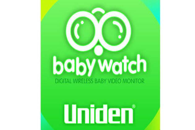Uniden Baby Watch app + Digital Wireless Baby Video Monitor BW 3451R