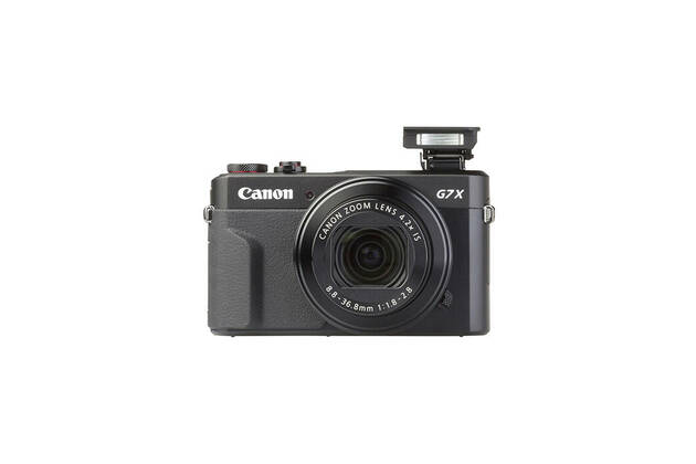 Canon PowerShot G7X Mark II (with 8.8-36.8mm lens)