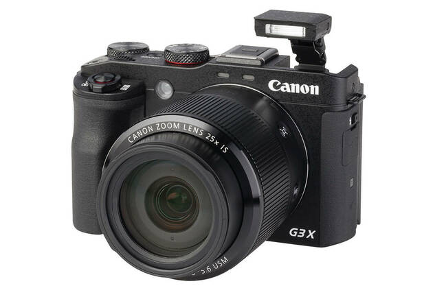 Canon PowerShot G3X (with 8.8-220mm lens)