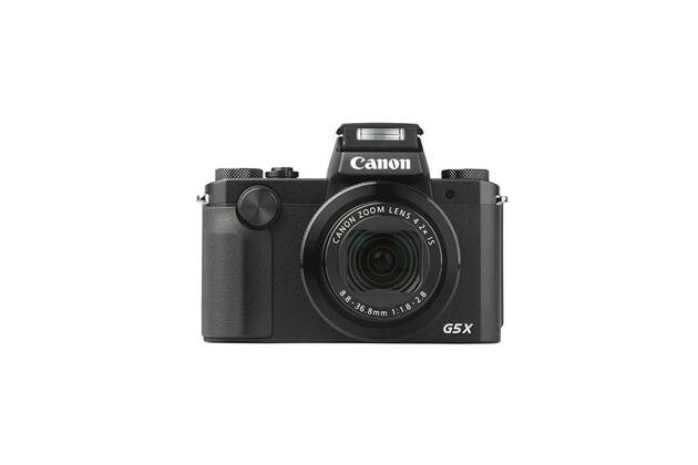 Canon PowerShot G5X (with 8.8-36.8mm lens)