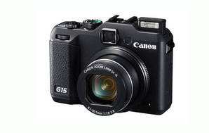 PowerShot G15 (with 6.1-30.5mm lens)