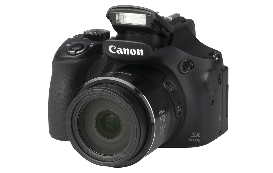 Canon PowerShot SX60 HS (with 3.8-247mm lens)