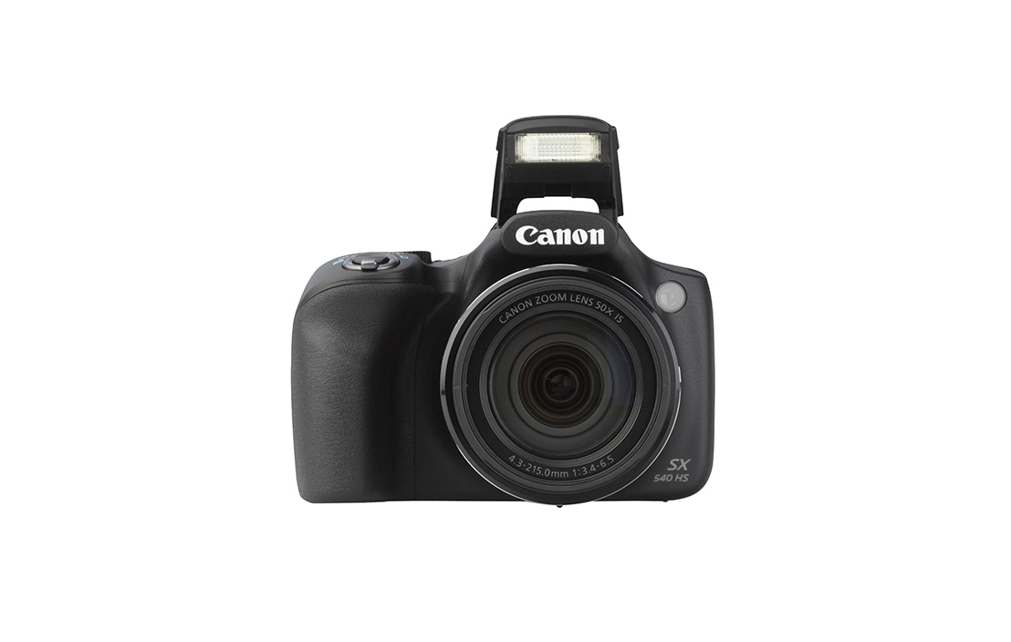 Canon Powershot SX540 HS (with 4.3-215mm lens)