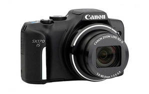 PowerShot SX170 IS (with 5-80mm lens)