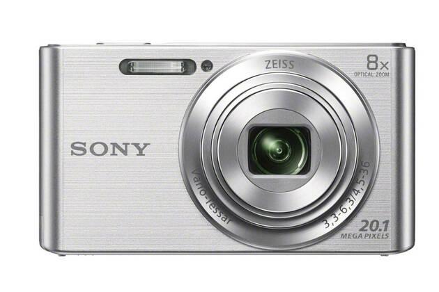 Sony Cyber-shot DSC-W830 (with 4.5-36mm lens)