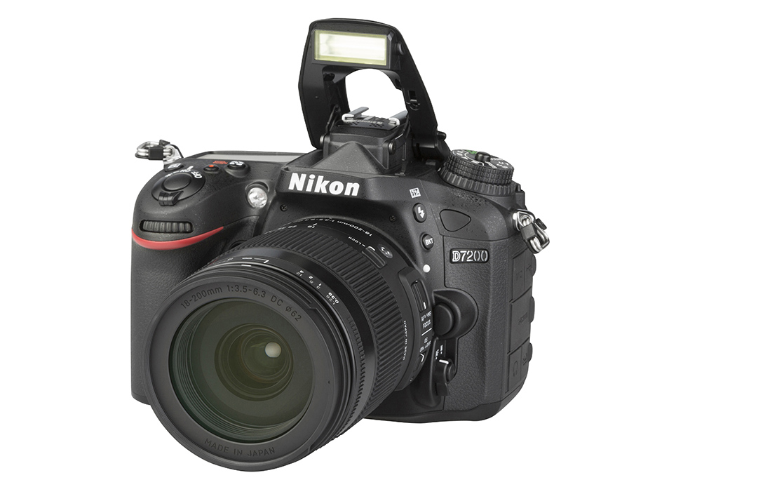 Nikon D7200 (with 18-200mm lens)