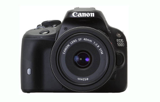 EOS 100D (with 18-55mm lens)