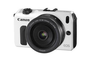 EOS M (with 18-55mm lens)