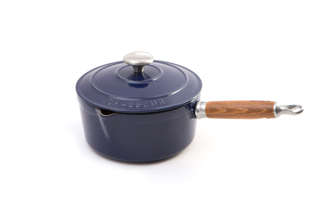 Chasseur Cast Iron Saucepan French Blue 19503