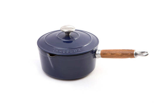 Cast Iron Saucepan French Blue 19503