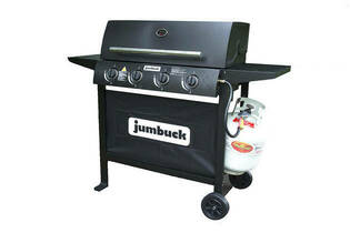 4 Burner Hooded Portland BBQ