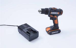 Lithium Ion Drill 20 Volt Orange WX166.1