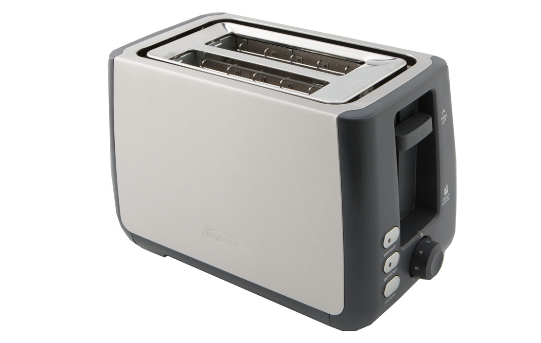 Sunbeam long slot 2 slice toaster ta45201