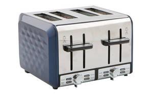 4-slice Stainless Steel Pattern Toaster KST012AF