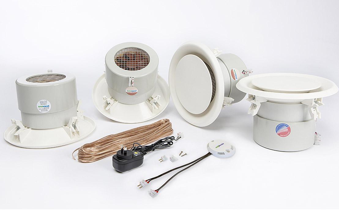 Unovent® H511  h-line™ 1 x vent kitset