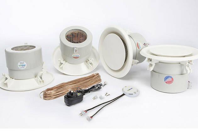 Unovent® H512  h-line™ 2 x vent kitset