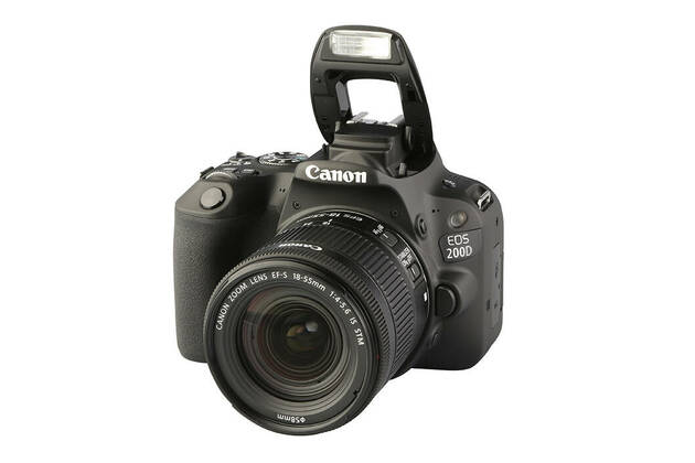 Canon EOS 200D (with 18-55mm lens)