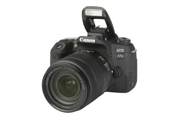 Canon EOS 77D (with 18-135mm lens)