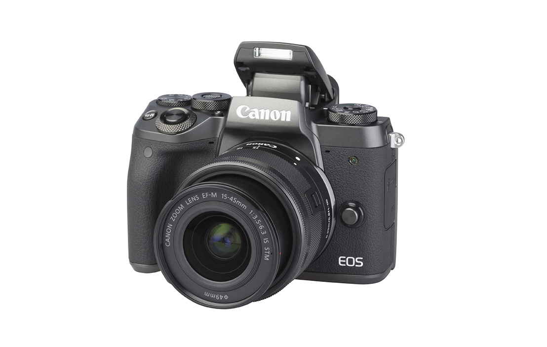 Canon EOS M5 (with 15-45mm lens)