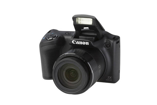Canon PowerShot SX430 IS (with 4.3-193.5mm lens)