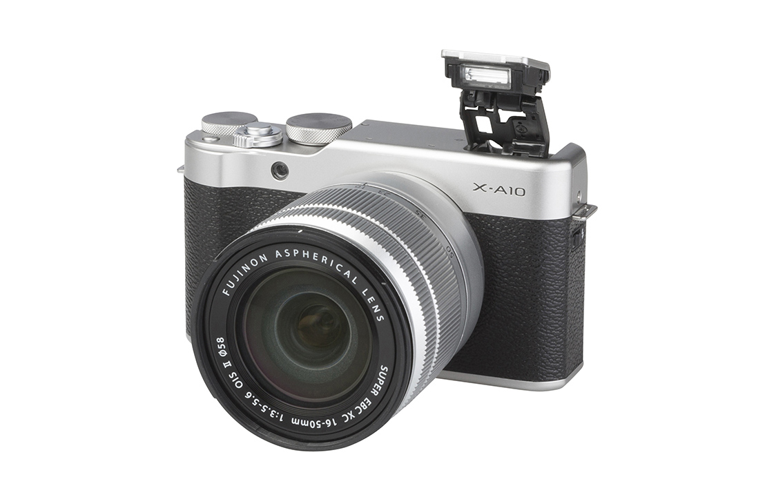 Fujifilm X-A10 (with 16-50mm lens)