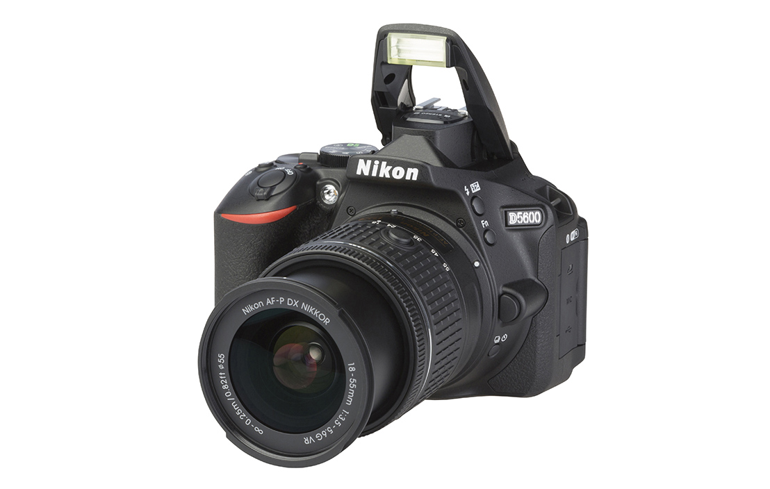 Nikon D5600 (with 18-55mm lens)