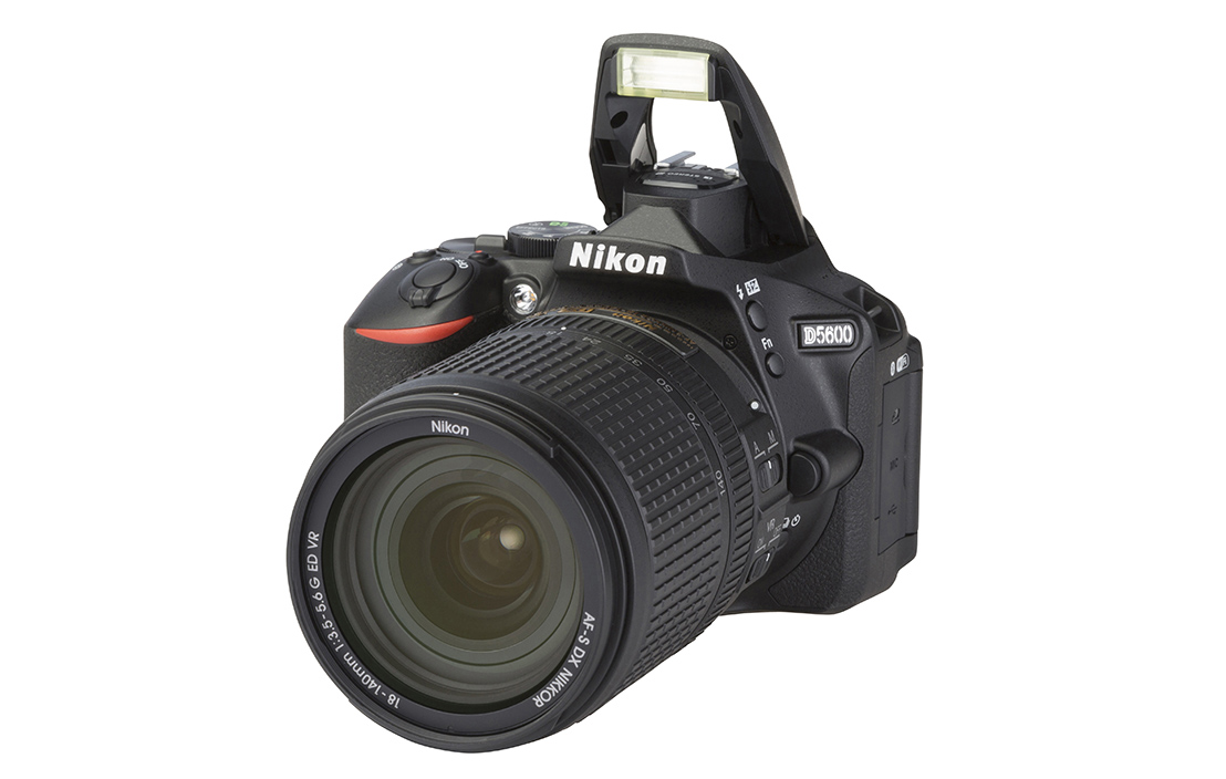 Nikon D5600 (with 18-140mm lens)