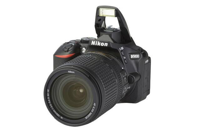 Nikon D5600 (with 18-140mm lens)