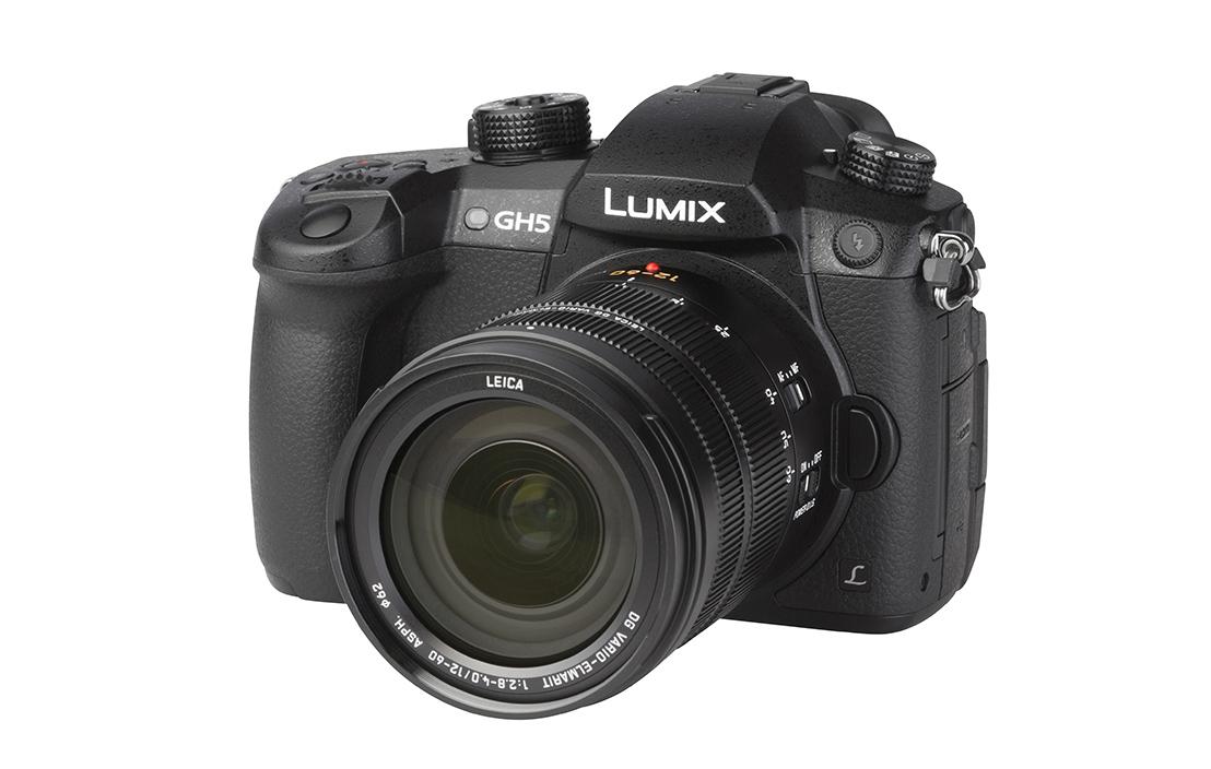 Panasonic LUMIX DC-GH5 (with 12-60mm lens)