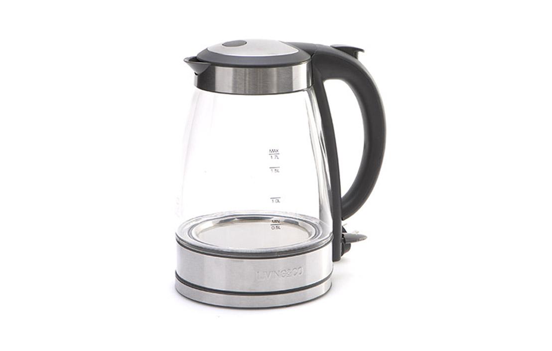 Living & Co 1.7L Glass Kettle JK-108