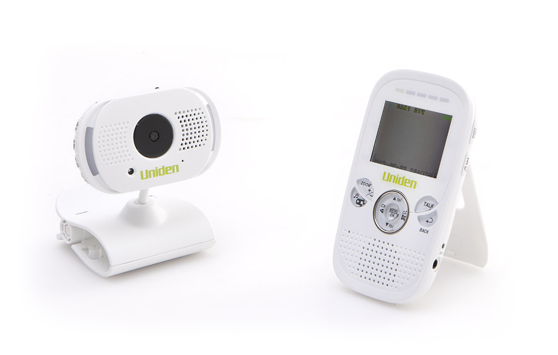 Uniden digital wireless baby video monitor bw3001