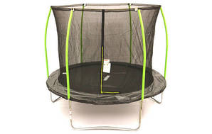10 ft Springless Trampoline with Enclosure