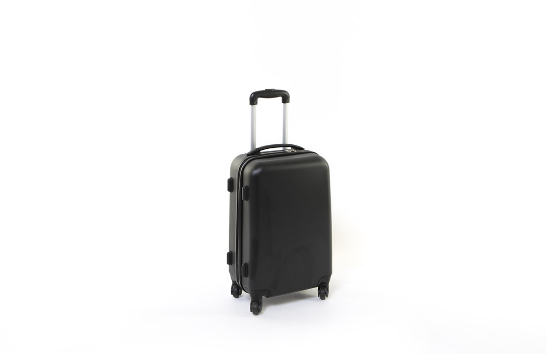 Basics 4 Wheel Hard Suitcase 50cm
