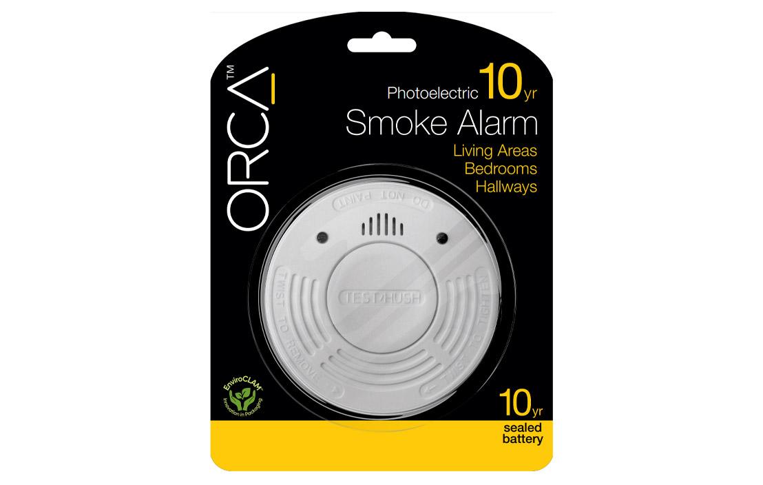 Orca smoke alarm