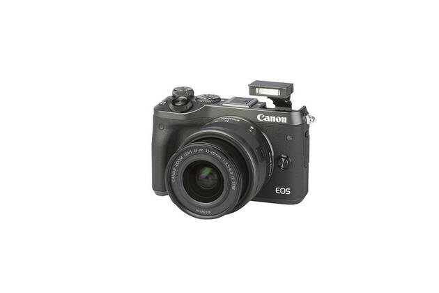 Canon EOS M6 (with 15-45mm lens)