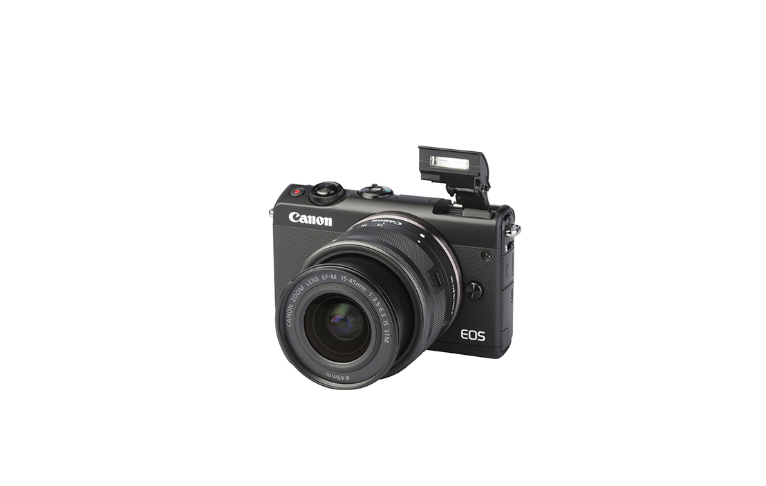 Canon EOS M100 (with 15-45mm lens)