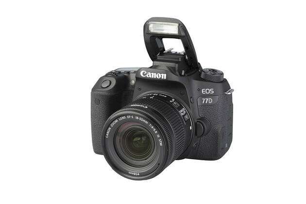 Canon EOS 77D (with 18-55mm lens)