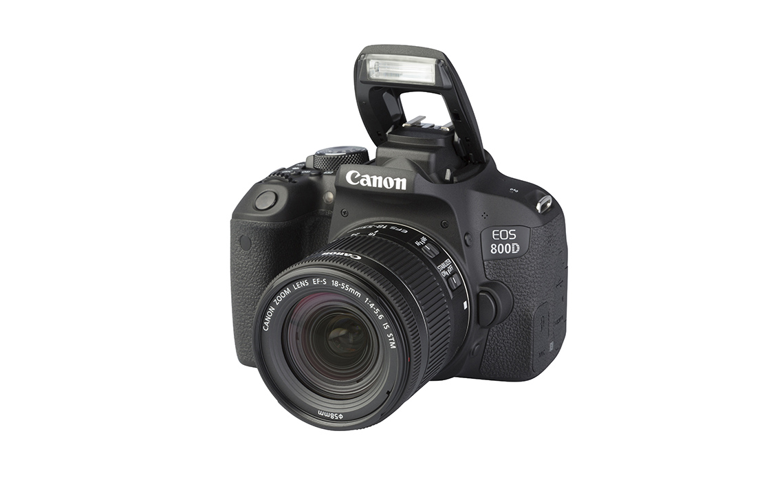 Canon EOS 800D (with 18-55mm lens)
