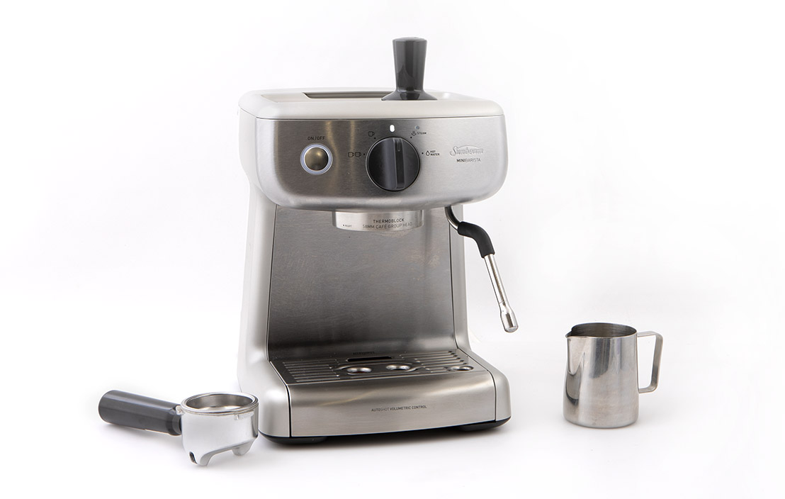 18jul sunbeam mini barista espresso machine em4300