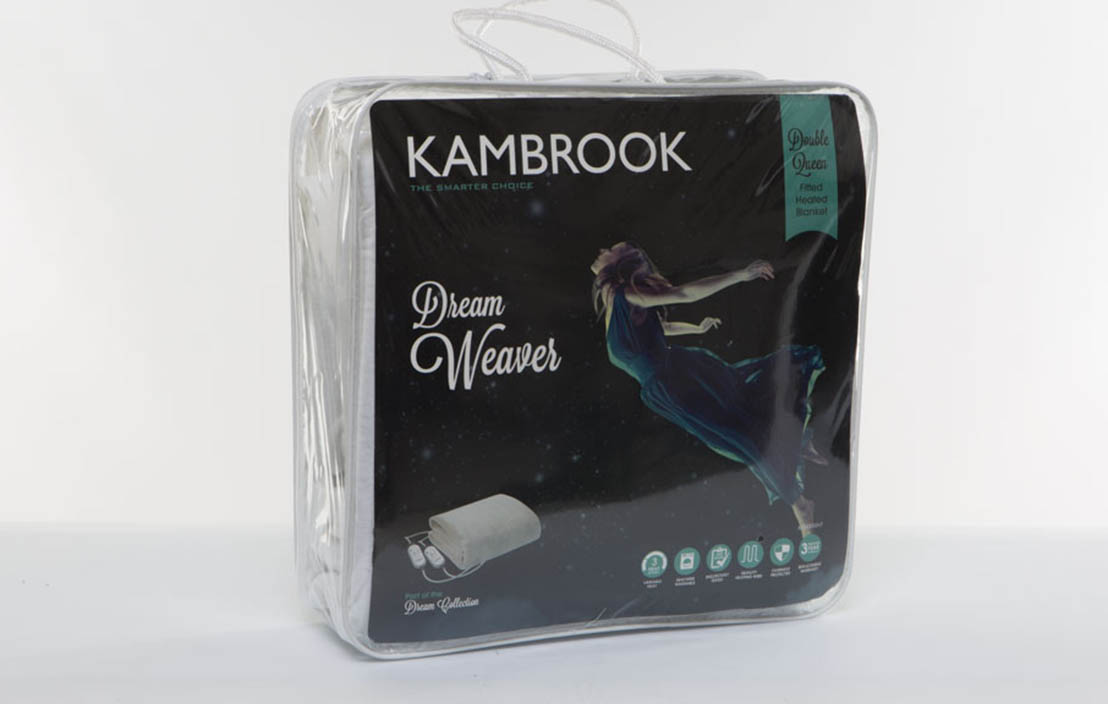 Kambrook Dream Weaver KEB435WHT Queen
