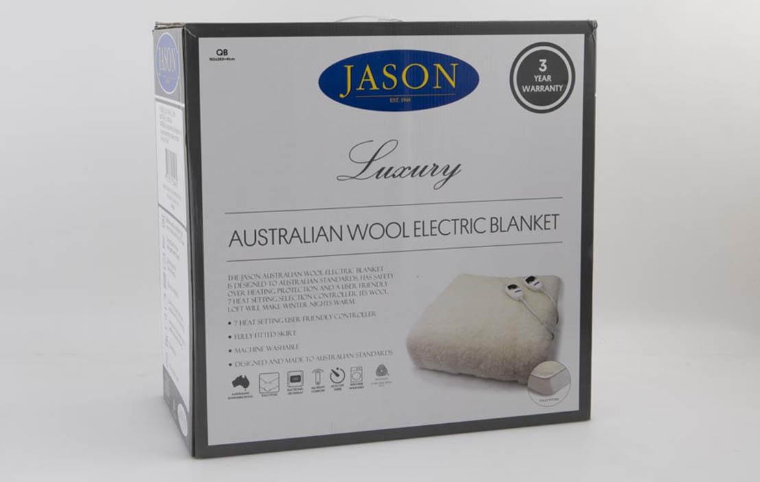 Jason Luxury Australian Wool Queen (WOFTW2C-PS5-H/1)