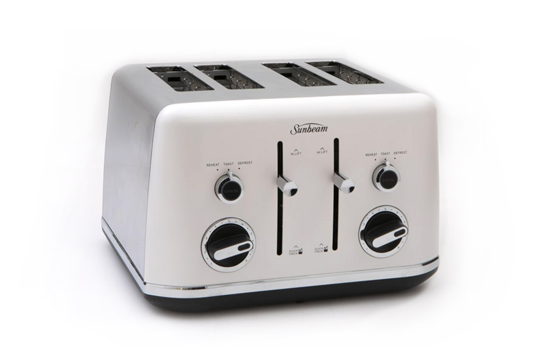 18jul sunbeam gallerie ta2640 4 slice toaster ta2640