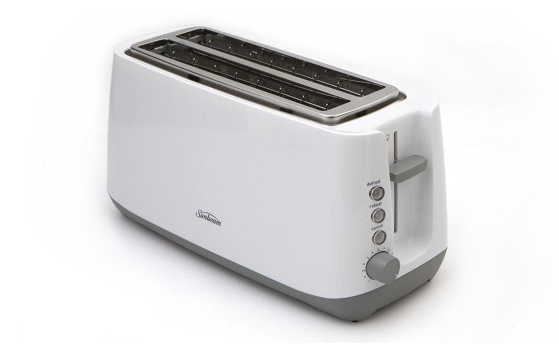 18jul sunbeam quantum plus 4 slice toaster ta2340