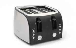 4 Slice Toaster 1500W Stainless Steel LT4B