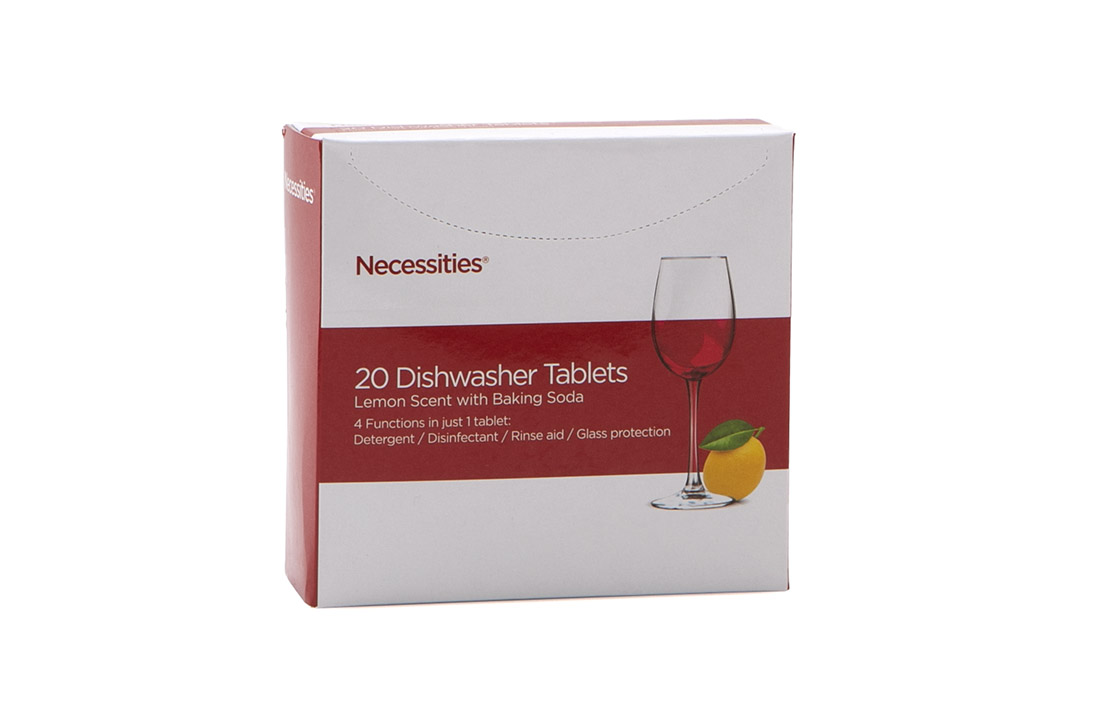 18sept necessities dishwasher tablets