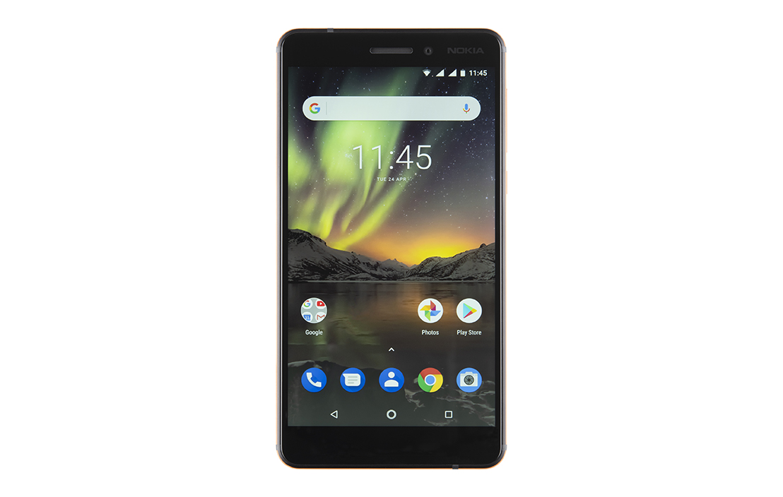Nokia new 6 1 2018