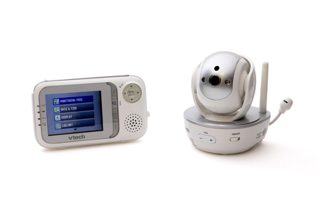 18oct vtech pan   tilt full colour video and audio monitor