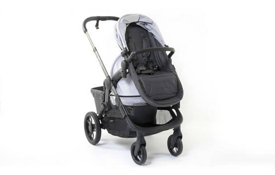 Orange Double Stroller