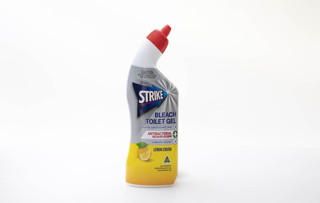 Strike Bleach Toilet Gel