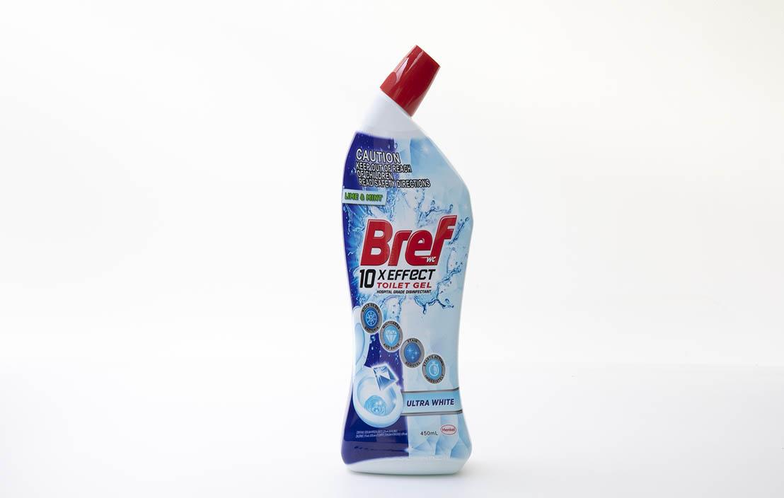 Bref 10x Effect Toilet Gel Ultra White